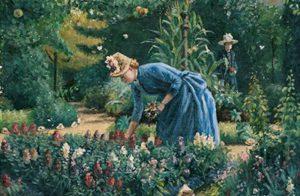 trädgårdsminne